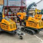 large forst machinery for hire
